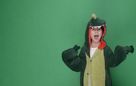 Les vêtements dinosaures font toujours tendance